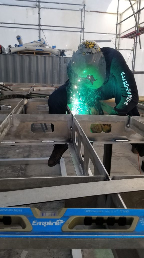 ship welding and fabrication