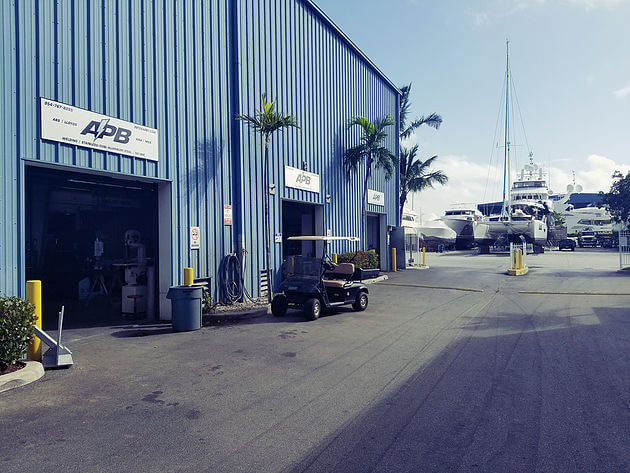 Marine Welding and Metal Fabrication at All Points Boats